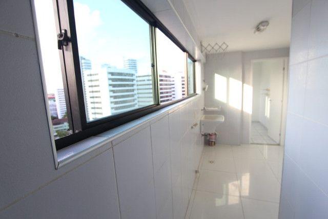 Apartamento jaqueira 3 quartos 2 suites 130m2 com 2 vagas, Recife-PE - Foto 9