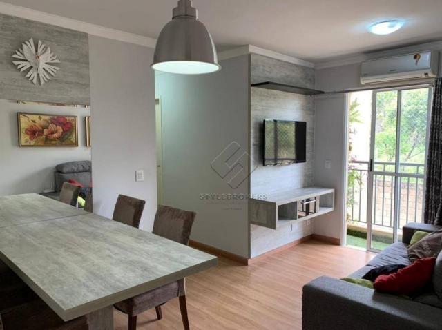 Apartamento com 2 dormitórios à venda, 60 m² por R$ 195.000,00 - Parque Residencial das Na