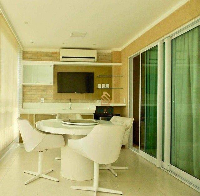 Apartamento com 3 dormitórios à venda, 115 m² por R$ 1.200.000,00 - Porto das Dunas - Aqui - Foto 9
