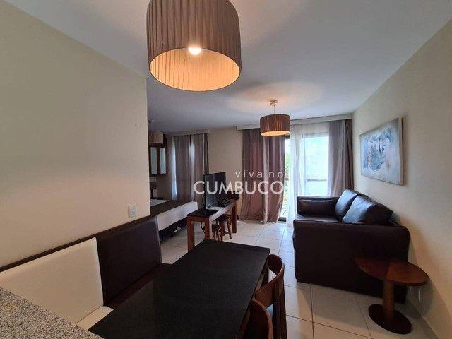 Apartamento com 1 dormitório para alugar, 39 m² por R$ 2.800/mês - Cumbuco - Caucaia/CE - Foto 2