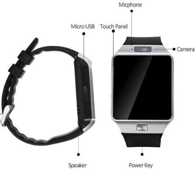smartwatch dz09 - Foto 5