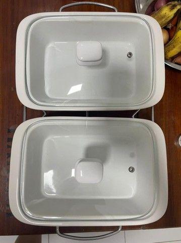 Réchaud refratário porcelana  - Foto 2