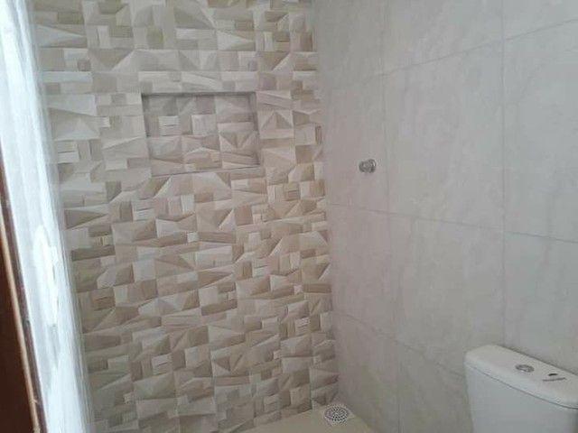 Casa nova com suite e porcelanado e churrasqueira  canelas vg - Foto 5