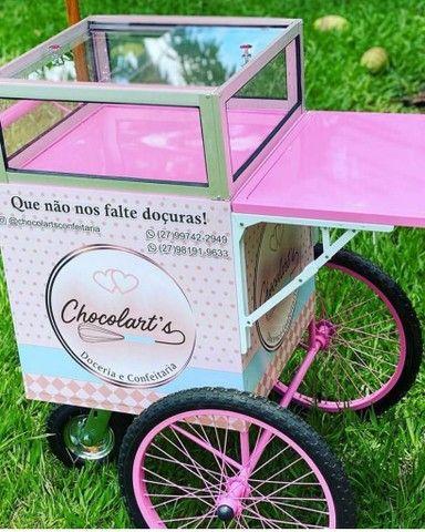 Mini kart baby - para venda de doces. - Foto 3