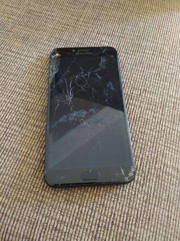 Samsung J2 com display quebrado