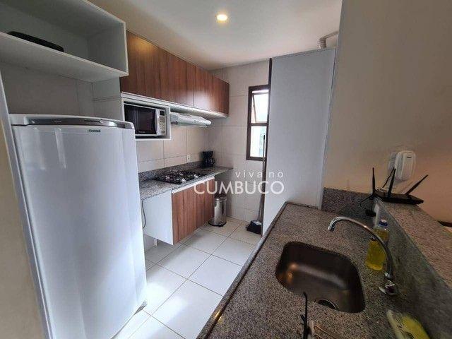 Apartamento com 1 dormitório para alugar, 39 m² por R$ 2.800/mês - Cumbuco - Caucaia/CE - Foto 4