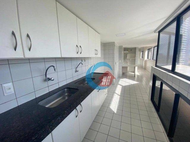 Apartamento com 4 quartos para alugar, 210 m² por R$ 6.500/mês - Casa Forte - Recife/PE - Foto 17