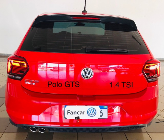 Polo GTS 1.4 TSI 2020 14.500 km único dono  - Foto 5
