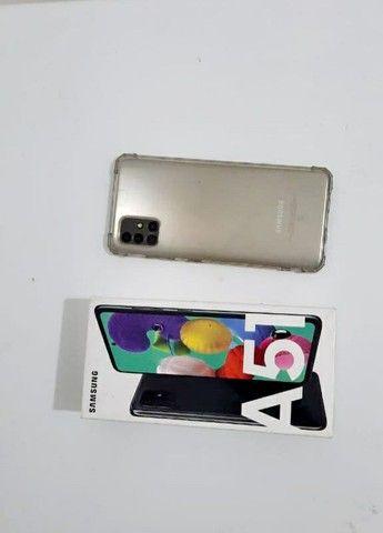 Samsung A51 seminovo apenas 2 meses de uso - Foto 3