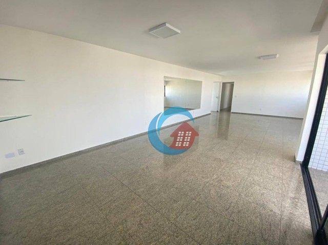Apartamento com 4 quartos para alugar, 210 m² por R$ 6.500/mês - Casa Forte - Recife/PE - Foto 3