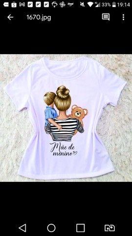 Camiseta dia das Mães - Foto 2
