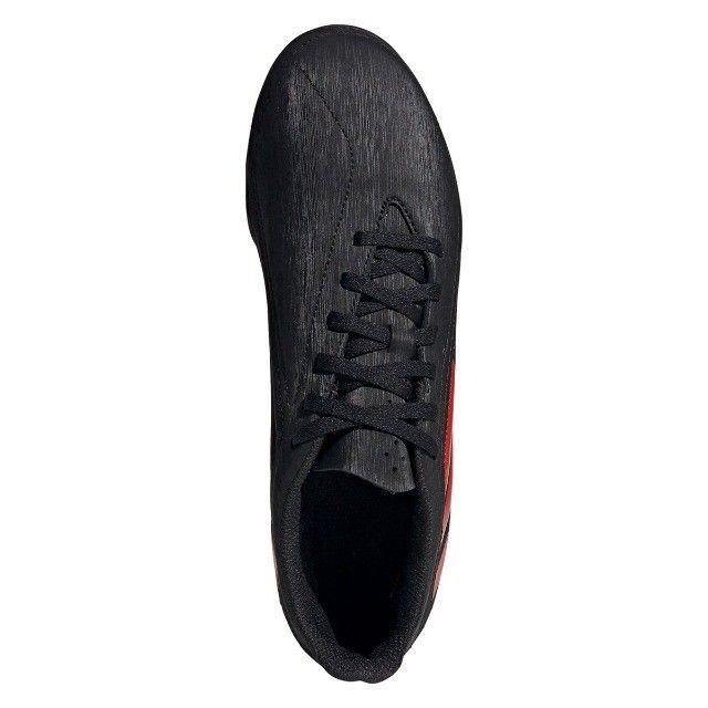 Chuteira Society Adidas Deportivo - Exclusiva - Preto+Vermelho - Foto 5
