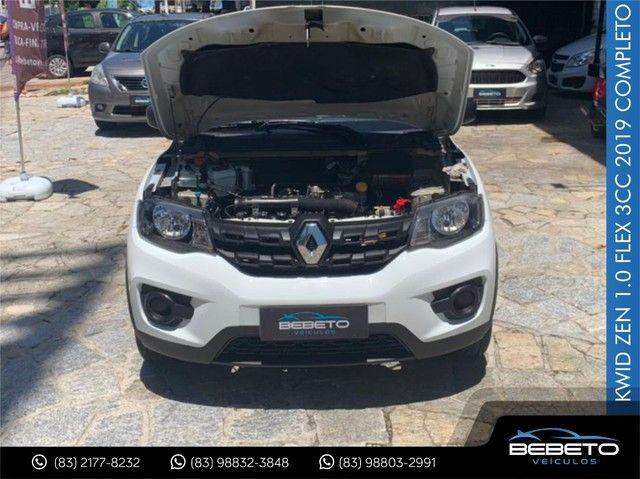 Renault Kwid Zen 1.0 Flex 2019 Completo - Foto 5
