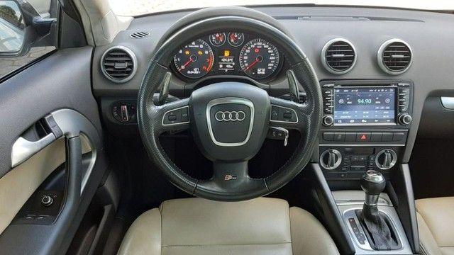 Audi A3 2.0 Tfsi Completo Automático 2011 Entrada + parcelas de R$899,96  - Foto 6