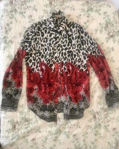 Camisa Estampada Vintage  - Foto 2