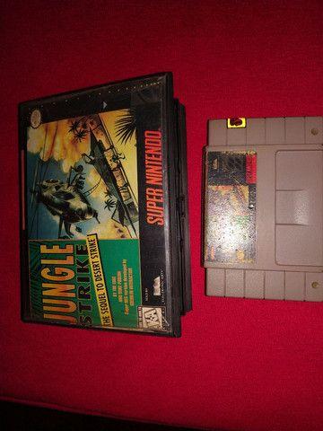Jungle Strike super Nintendo - Foto 3