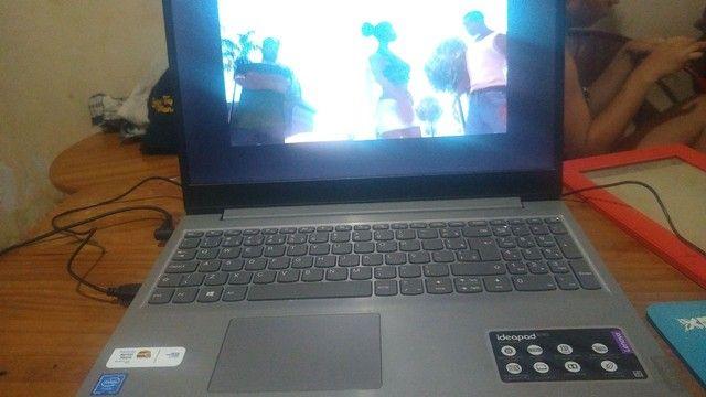 Notebook s145 Lenovo tela 15,6 tá novo  - Foto 3