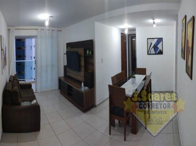 Tambaú, Mobiliado, 2 quartos, suít, 70m², R$ 2.300, Aluguel, Apartamento, João Pessoa - Foto 3