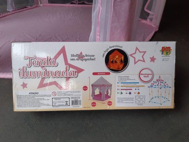 Tenda iluminada com luzes decorativas-  marca- dm/ toys. - Foto 5