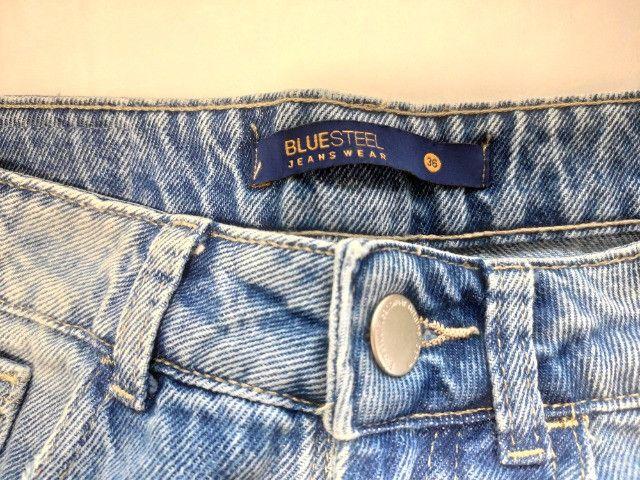 Short Blue Steel Jeanswear - Foto 4