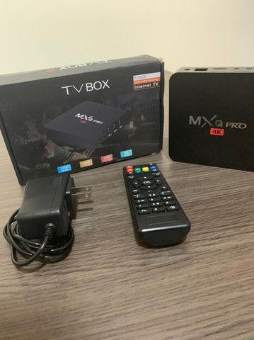 Conversor Smart Tv Mxq Pro 4K Android 9.0 4Gb - Foto 2