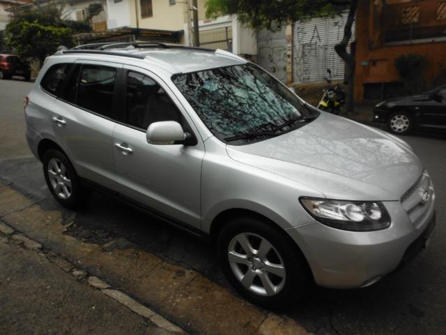 Hyundai Santa Fe 2009 blindada+nova e sp