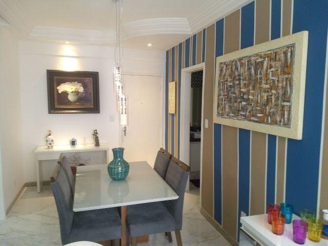 Apartamento na Praia do Canto, mobiliado, andar alto