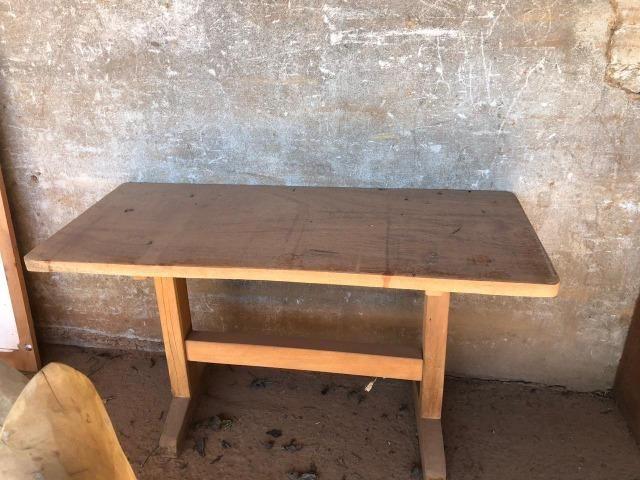 Mesas de Madeira de Demolição/Diversos tamanhos e modelos a partir de R$ 600,00 - Foto 3