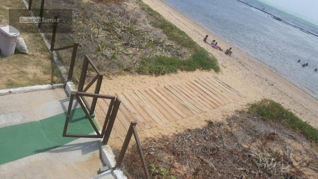 Terreno em condomínio fechado à beira mar no sonho verde - Foto 8