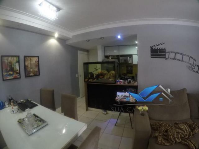 Apartamento à venda com 3 dormitórios em Morada de laranjeiras, Serra cod:AP175GI - Foto 2