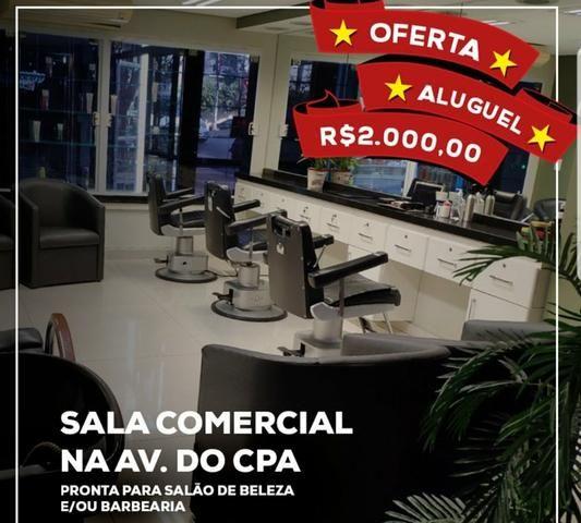 Sala comercial no coração da Av do CPA - Foto 3
