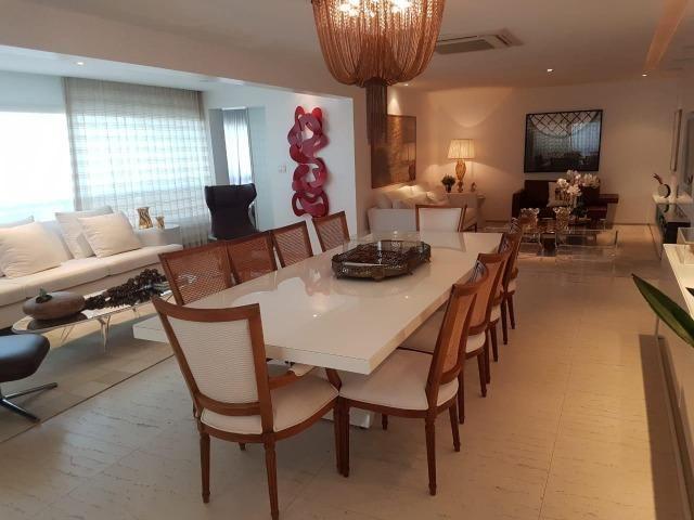 Apartamento Lumno 4 Suítes 276m2 Alto 4 vagas Decorado Nascente linda vista mar