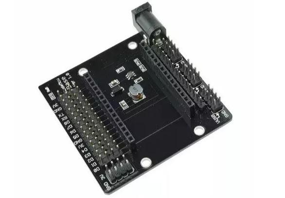 COD-AM129 Placa Base Nodemcu Shield Adaptador Esp8266 Arduino Automação Robotica - Foto 2