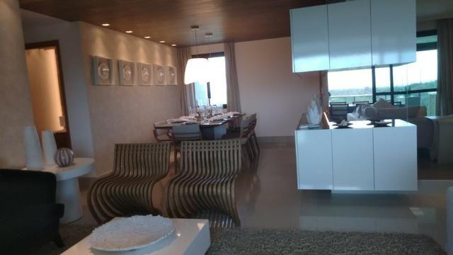Apartamento em altíssimo padrão 4 suítes 182m² 3 vagas na reserva do paiva confira - Foto 5