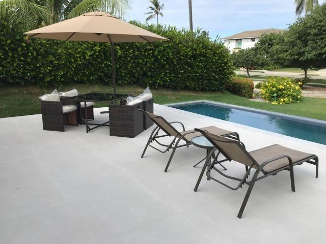 Luxuosa casa duplex com decoração e mobília completa conheça o projeto na integra paiva - Foto 5