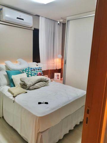 Lindo apartamento todo pronto com varanda gourmet na ponta verde - Foto 8