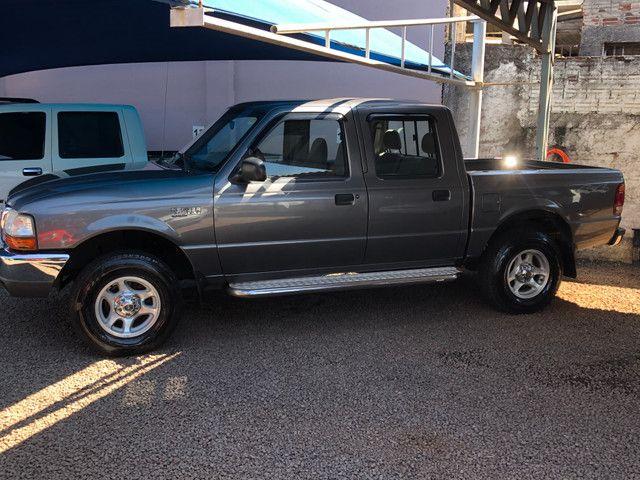 Ranger XLT Diesel 4x4 1999 * Único dono - Foto 3