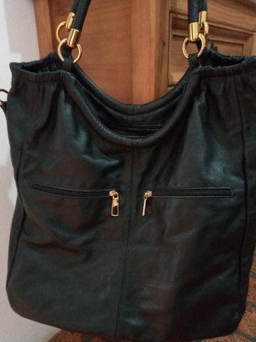 Bolsa em couro preta - Steil