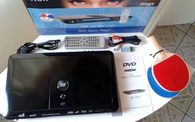 DVD Player Nell Sd-829 c/ Jogos Excelente Estado - Foto 4