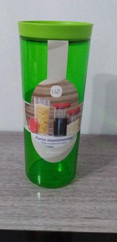 Porta Mantimentos 2,5 litros da Marca UZ - Novos - Foto 2