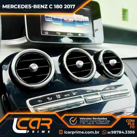 M.benz/ 2017-2017/ C180/ Igual a zero/ 26.OOOKm/ Preço imbatível - Foto 14