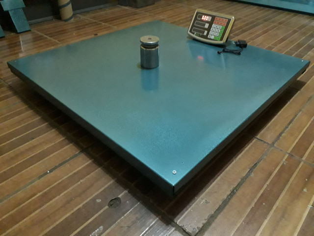 Balança Eletrônica 1000 kg 1 Tonelada Bateria/Bivolt  - Foto 3