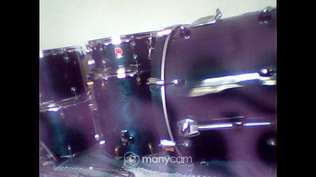 Bateria premier tambores e caixa