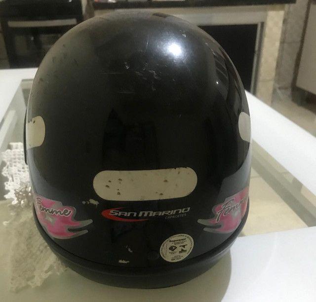 Vendo capacete usado - Foto 3