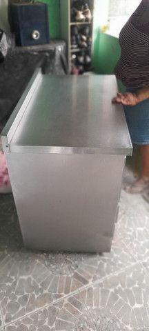 Balcão industrial revestido de inox - Foto 5