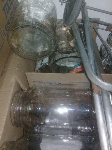 Vendo vidros usados de palmito