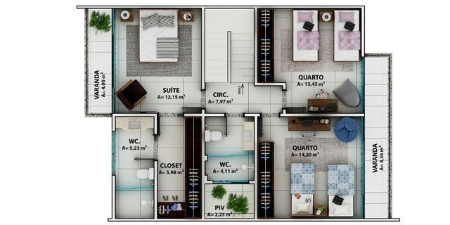Viva Urbano Imóveis - Casa no Jardim Suiça - CA00216 - Foto 3