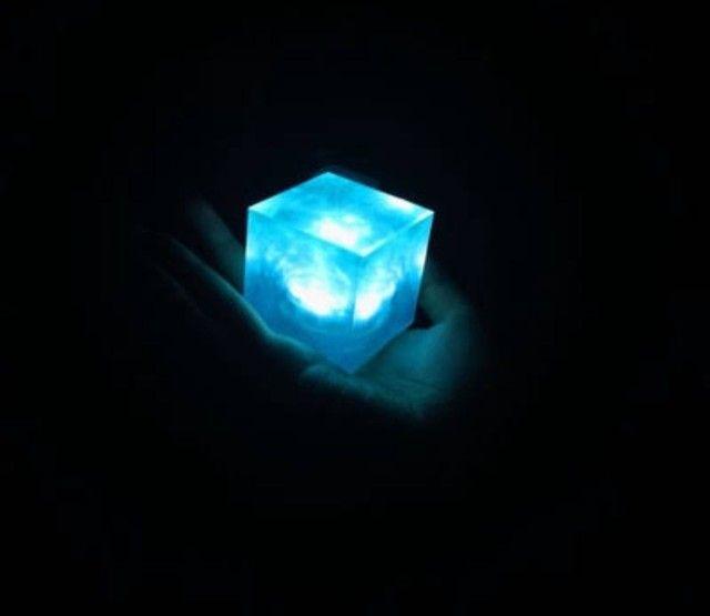 Luminária cubo tesseract com sensor aproximação - Foto 4