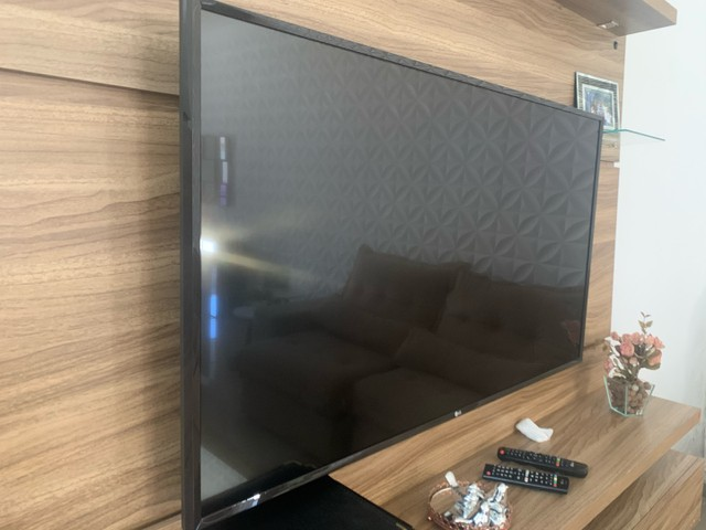 TV smart LED 4K 50 polegadas