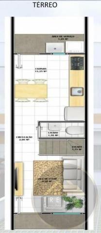 Casa Geminada para Venda em Joinville, Iririú, 2 dormitórios, 1 banheiro - Foto 3